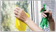 İşyeri vitrin Temizliği